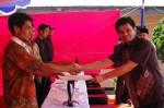 Serah Terima dengan Wali Jorong III Kampung